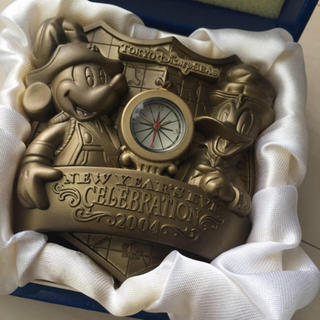 ディズニー(Disney)のディズニー♡限定ニューイヤーズ時計(置時計)