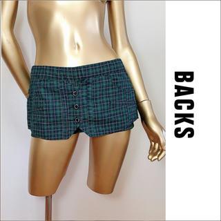 BACKS - BACKS チェック柄 ショートパンツ スカート風♡ギルフィー ガルラ ダイヤ