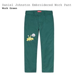 シュプリーム(Supreme)のSupreme Daniel Johnston Work Pant(ワークパンツ/カーゴパンツ)