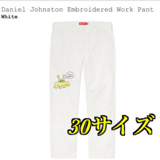 シュプリーム(Supreme)の【確実正規品】Supreme Embroidered Work Pant 30(ワークパンツ/カーゴパンツ)