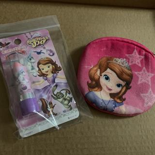 ディズニー(Disney)のソフィアリップ&財布セット 子供用(財布)