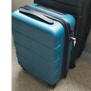 ムジルシリョウヒン(MUJI (無印良品))の無印良品 ハードキャリー  19L  ターコイズ(スーツケース/キャリーバッグ)