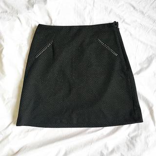 カマイウ(Camaieu)のシンプルドットミニスカート(ミニスカート)