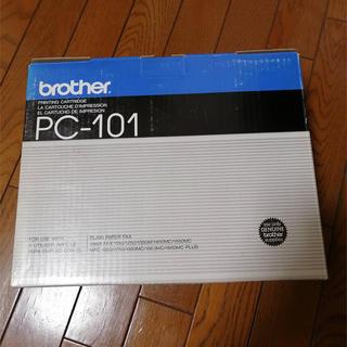 ブラザー(brother)のブラザー工業ファックス用インクカートリッジ PC-101 【KK9N0D18P】(オフィス用品一般)