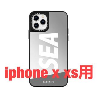ロンハーマン(Ron Herman)のwind and sea ウィンダンシー  アイフォン iphone xs x(iPhoneケース)