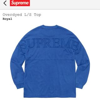 シュプリーム(Supreme)のOverdyed L/S Top(Tシャツ/カットソー(七分/長袖))