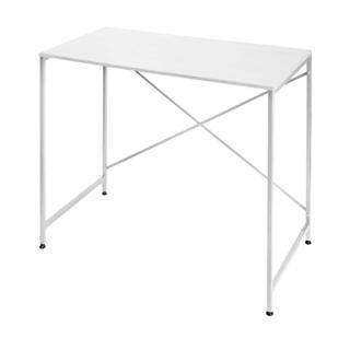パソコンデスク サイドテーブル ホワイト(オフィス/パソコンデスク)