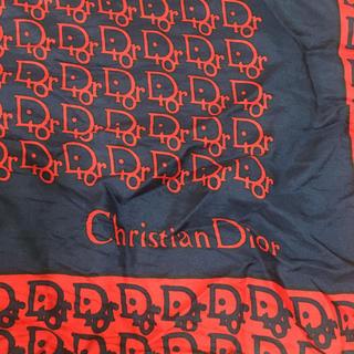 ディオール(Dior)のジャンク品 難あり ビンテージ vintage クリスチャンディオール スカーフ(バンダナ/スカーフ)