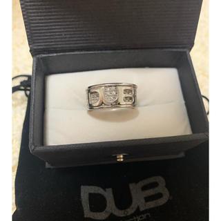 ダブコレクション(DUB Collection)のDUB 指輪 リング ユニセックス キラキラ ロゴ(リング(指輪))
