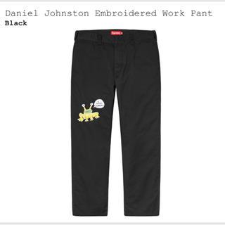 シュプリーム(Supreme)の32 Daniel Johnston Embroidered Work Pant(ワークパンツ/カーゴパンツ)