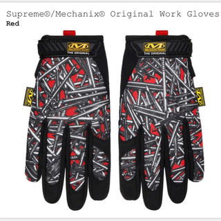 シュプリーム(Supreme)のSupreme Mechanix Work Gloves Red XL(手袋)