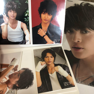 キスマイフットツー(Kis-My-Ft2)の玉森裕太DREAMBOYS フォトセ&ファイル(男性アイドル)