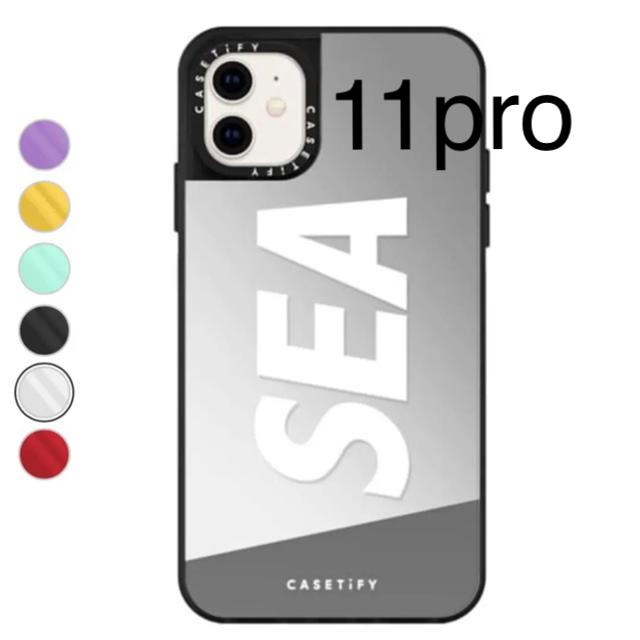 SEA(シー)のWIND AND SEA CasetifyiPhone11pro ウィンダンシー スマホ/家電/カメラのスマホアクセサリー(iPhoneケース)の商品写真