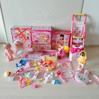 PILOT - メルちゃん 大量セット 人形  ベビーカー びようしつ まとめ売り おもちゃ