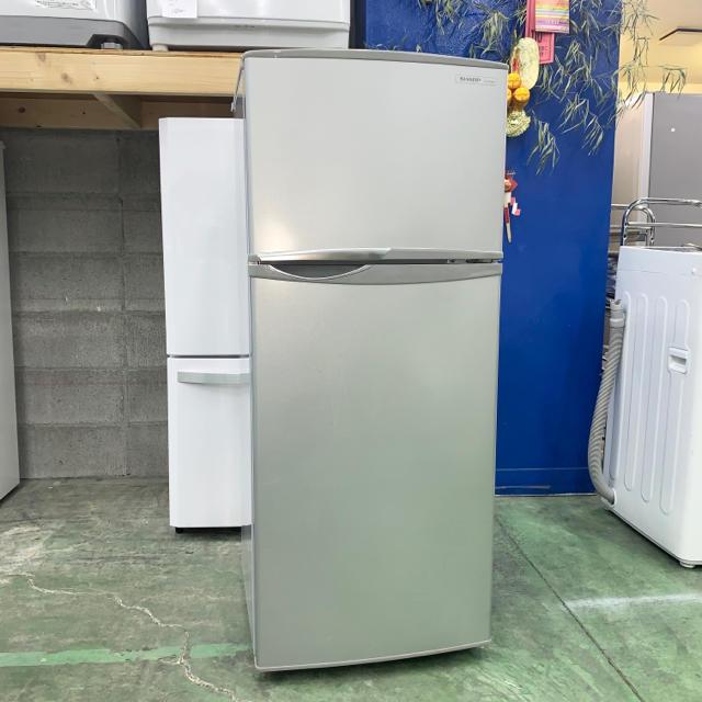 SHARP(シャープ)の⭐️SHARP⭐️冷凍冷蔵庫 2014年 118L 大阪市近郊配送無料 スマホ/家電/カメラの生活家電(冷蔵庫)の商品写真