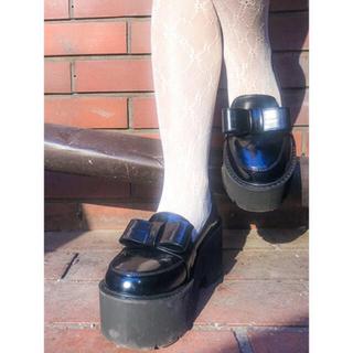 バブルス(Bubbles)の【BUBBLES】フロントリボンローファー(ローファー/革靴)
