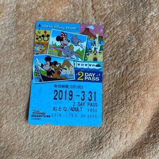 ディズニー(Disney)の使用済み ディズニーリゾートライン きっぷ(鉄道乗車券)