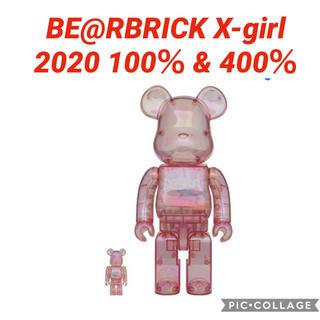 エックスガール(X-girl)のBE@RBRICK X-girl 2020 100% & 400%(その他)