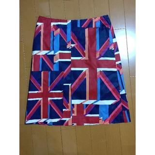 マリークワント(MARY QUANT)のマリークワント スカート ユニオンジャック(ひざ丈スカート)