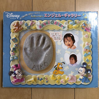 ディズニー(Disney)のエンジェルギャラリー デラックス立体フレーム(手形/足形)