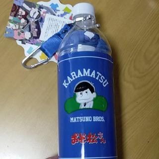 シマムラ(しまむら)のおそ松さん カラ松 Tシャツ Mサイズ ペットボトルホルダー付き(キャラクターグッズ)