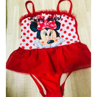 ディズニー(Disney)のDisney ミニーマウス 水着 80cm(水着)