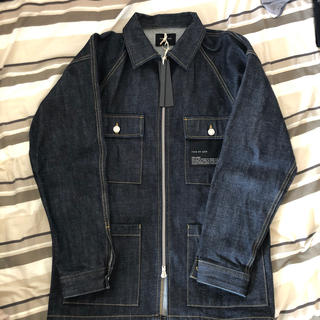 FEAR OF GOD - fear of god raw selvedge denim jacket S