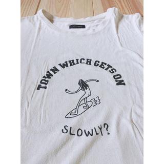 アメリカンラグシー(AMERICAN RAG CIE)のアメリカンラグシー ダメージ加工 サーファーTシャツ(Tシャツ/カットソー(半袖/袖なし))