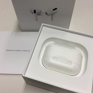 アップル(Apple)の超美品 Apple Air Pods Pro MWP22J/A(ヘッドフォン/イヤフォン)