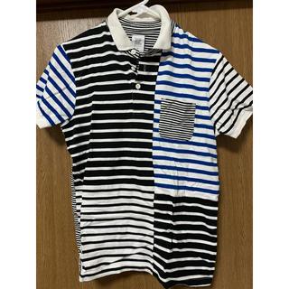 グラニフ(Design Tshirts Store graniph)のグラニフ ボーダーポロシャツ(シャツ/ブラウス(半袖/袖なし))
