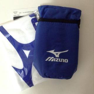 ミズノ(MIZUNO)のMIZUNO ペットボトルホルダー&タオル(日用品/生活雑貨)