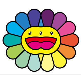 送料込 Multicolor Double Face yellow 村上隆 版画(版画)
