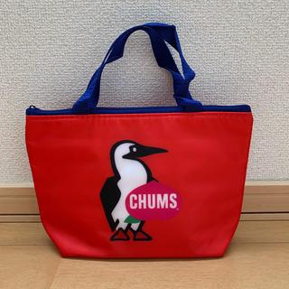 チャムス(CHUMS)のCHUMS 保冷バッグ【非売品・赤】(弁当用品)