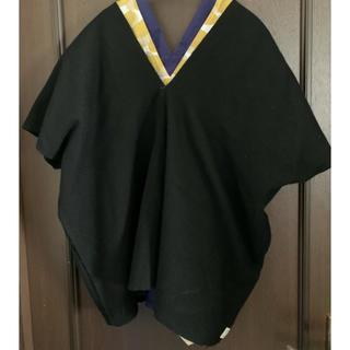 ソウソウ(SOU・SOU)のソウソウ SOU SOU ◆ 貫頭衣 短衣 黒(その他)