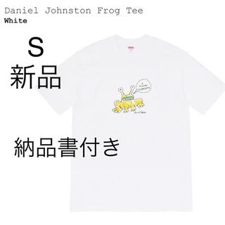 シュプリーム(Supreme)のSupreme Daniel Johnston Frog Tee S Tシャツ(Tシャツ/カットソー(半袖/袖なし))
