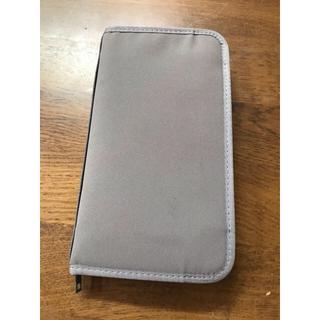 ムジルシリョウヒン(MUJI (無印良品))の無印良品 パスポートケース グレー(旅行用品)