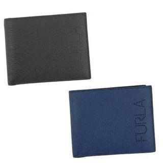 フルラ(Furla)のFURLA メンズ折り財布 ブラック(折り財布)