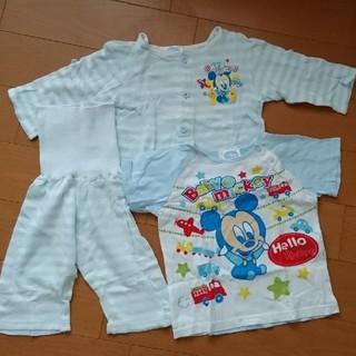 ディズニー(Disney)のDisney パジャマ 80サイズ 3点セット(パジャマ)