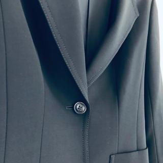 エポカ(EPOCA)のEPOCA ビジネス ウエストシェイプ 黒ジャケット(テーラードジャケット)