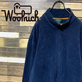 ウールリッチ(WOOLRICH)の90's  ウールリッチ ゆるだぼ  薄手ジップアップフリース 大人気(ブルゾン)