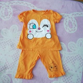 アンパンマン - アンパンマンシリーズ ドキンちゃんパジャマ サイズ95 美品