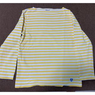 オーシバル(ORCIVAL)のORCIVALオーシバル ボーダー フレンチバスクシャツ(Tシャツ/カットソー(七分/長袖))