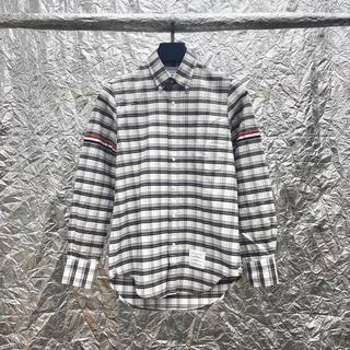 トムブラウン(THOM BROWNE)の トムブラウン Thom Browne チェックシャツ 1 未使用(シャツ)