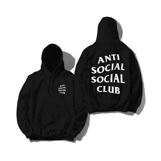 シュプリーム(Supreme)のanti social social club パーカー(パーカー)
