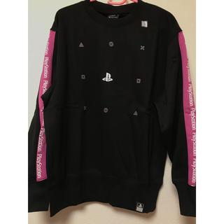 ジーユー(GU)のGU PlayStation プレイステーション トレーナー ピンク(スウェット)