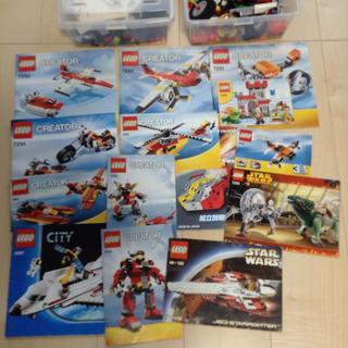 レゴ(Lego)のLEGOレゴまとめ売り2キロ弱(模型/プラモデル)