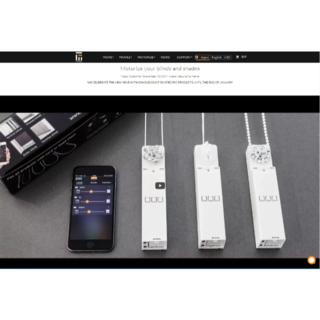 Teptron MOVE ブラインド カーテン 自動開閉 Bluetooth(ロールスクリーン)