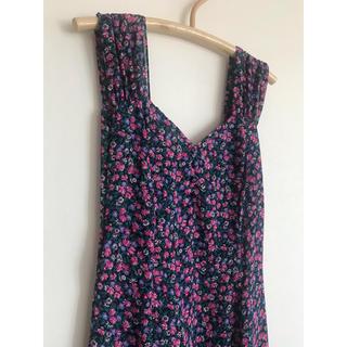 エディットフォールル(EDIT.FOR LULU)のvintage floral summer dress(ロングワンピース/マキシワンピース)