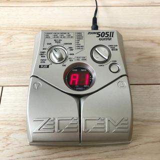 ズーム(Zoom)のZOOM 505II GUITAR マルチエフェクター(エフェクター)