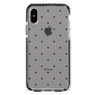 ハニーミーハニー(Honey mi Honey)のciaraシアラiPhoneケース7/8/SE2ドットhoneymiバンパー黒(iPhoneケース)
